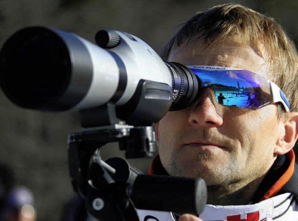 Steffen Hauswald hat die Leistungen de...er den Besten sind,  genau im Visier.   | Foto: Patrick Seeger
