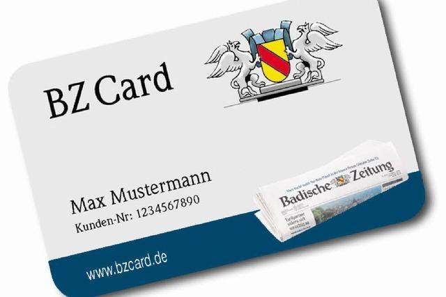 BZCard – das Plus für BZ-Abonnenten