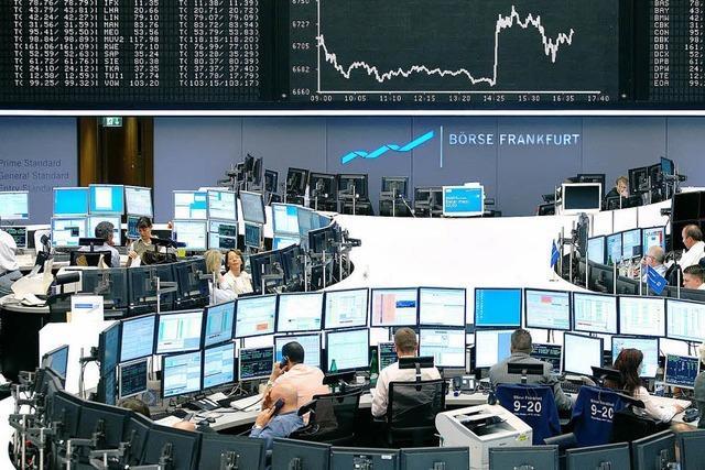 BZ-Leserfahrt zu Börse und Europäischer Zentralbank in Frankfurt