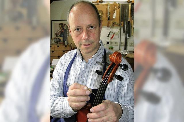 Münstertäler Geigenbauer zu Gast bei Jörg Pilawa