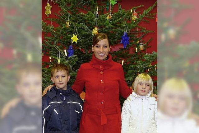 Basteln für den Christbaum