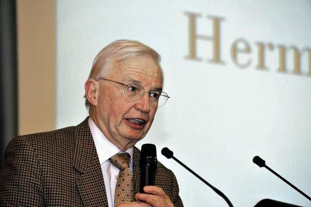 Nobelpreisträger Jean-Marie Lehn zu Gast in Freiburg