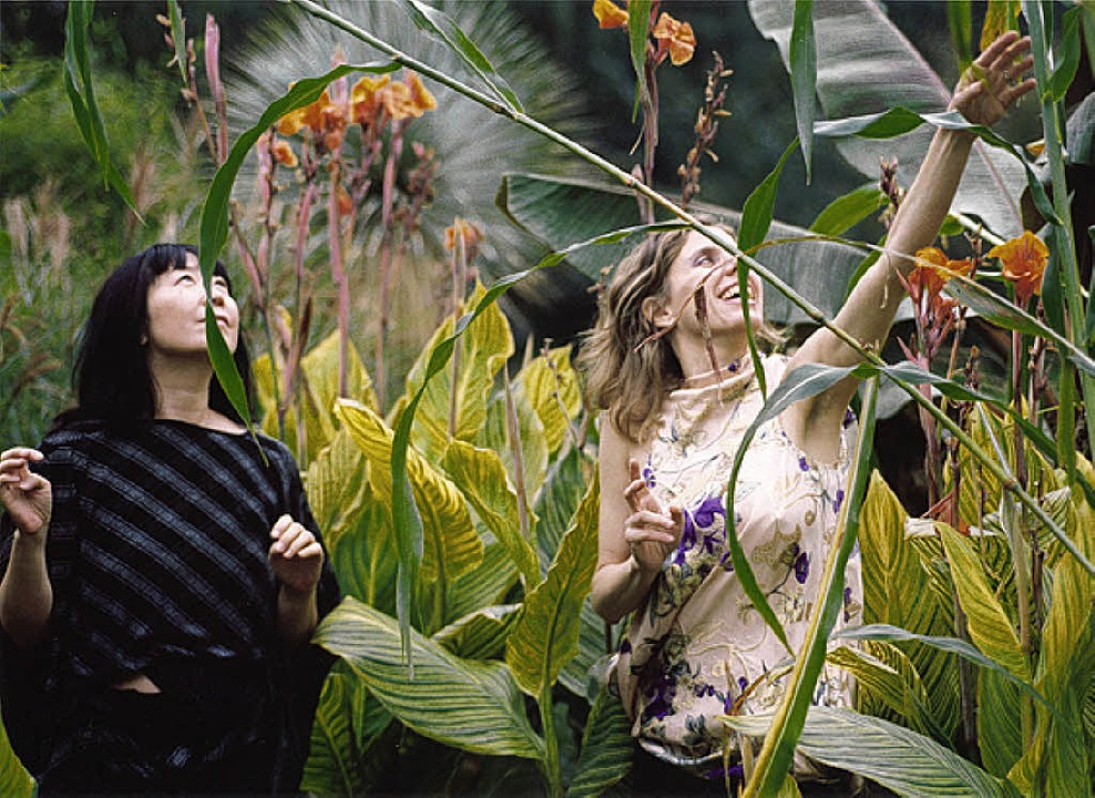 Das Duo Phantom Orchard: Ikue Mori (l.)  und Zeena Parkins   | Foto: bz