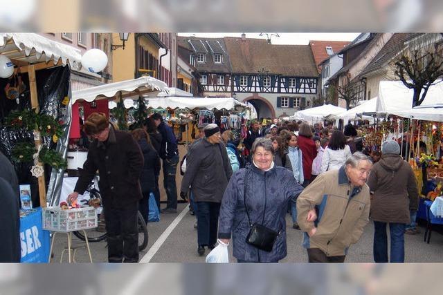 Bilder des Tages: Beim Klausmarkt