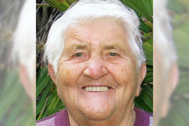 Frieda Schönborn ist 85