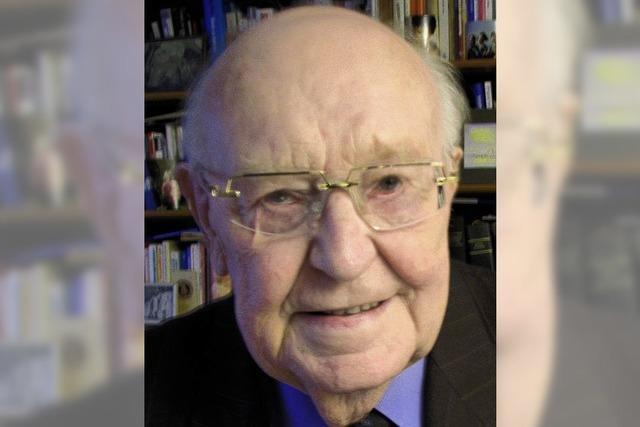 Klaus Geiger 80 Jahre alt