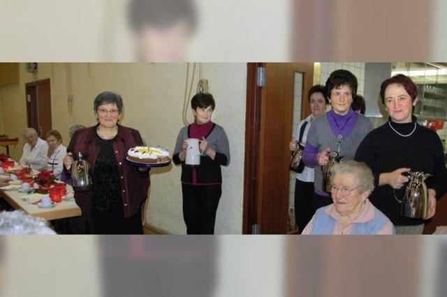 Adventskaffee in Niederwinden