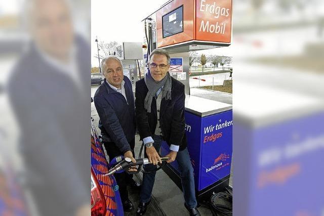 Eigene Zapfsäule für Autofahrer mit Gas