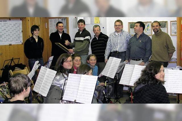 Der Musikverein macht Schule