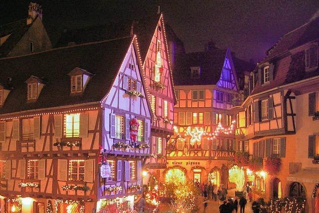 Rundgang durch das weihnachtliche Colmar