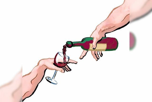 WEINKELLER: Danton will seinen Wein