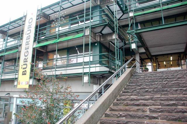 Einbrecher wüten im Rheinfelder Rathaus