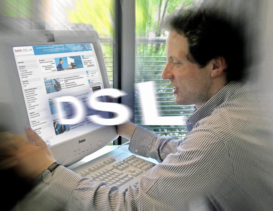 Zu DSL gibt es eine Reihe von Alternativen.   | Foto: dpa