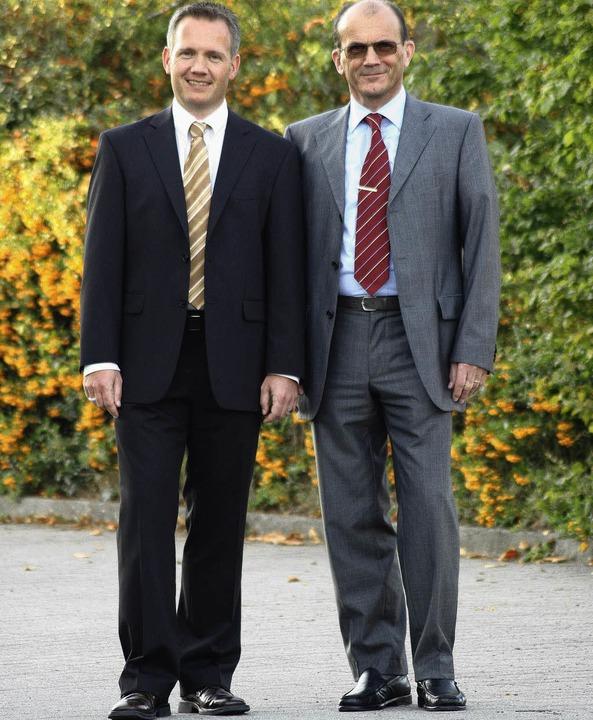 Stefan und Martin Hofmann, GF von Hopp & Hofmann  | Foto: Privat