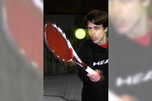 Tennistalent mit Bodenhaftung