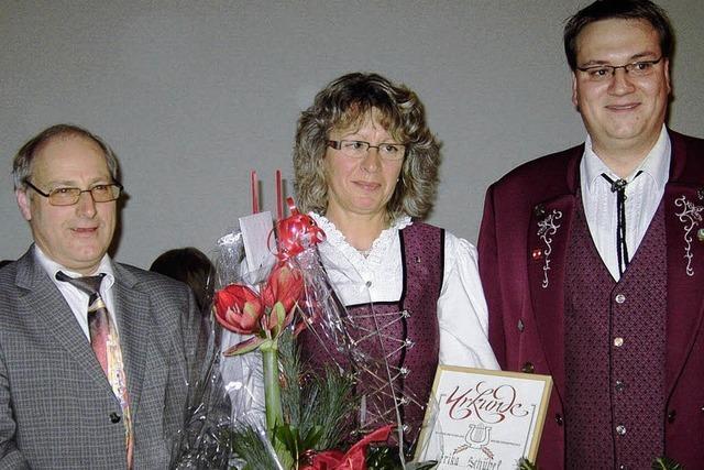 Seit 25 Jahren der Trachtenkapelle treu