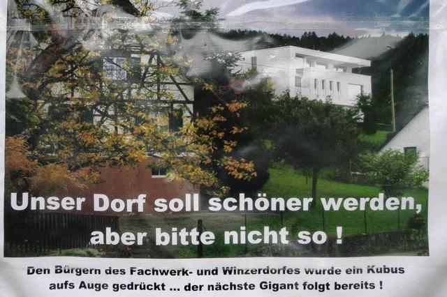 Architekturkritik in Fessenbach