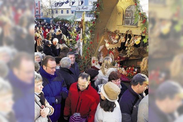 Karlstraße wird weihnachtlich