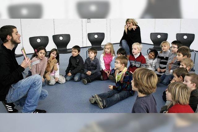 France Mobil macht Halt an Mahlberger Schule