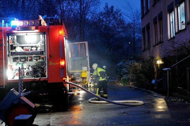 Feueralarm in der Waldorfschule