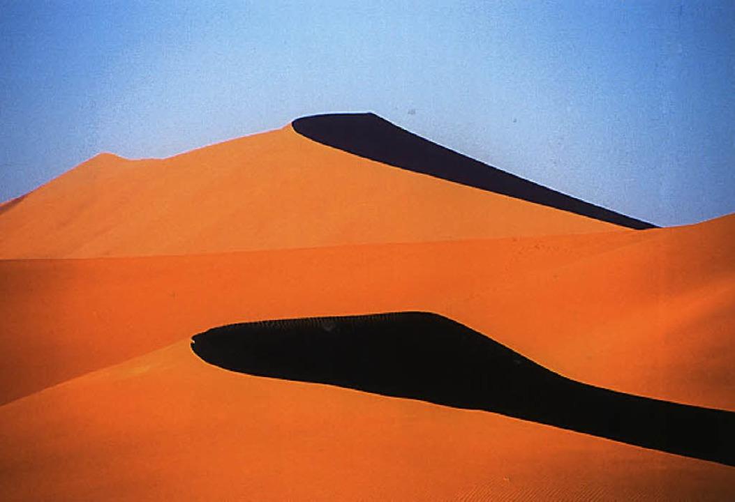 Dünenlandschaft in Namibia  | Foto: -