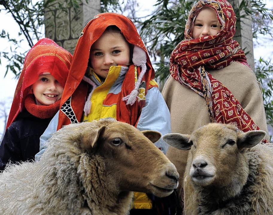 Die Kinder freuen sich schon auf den Orient – in Freiburg.     Foto: Thomas Kunz