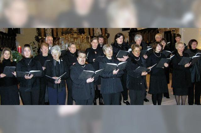 Musikalische Einstimmung auf Weihnacht