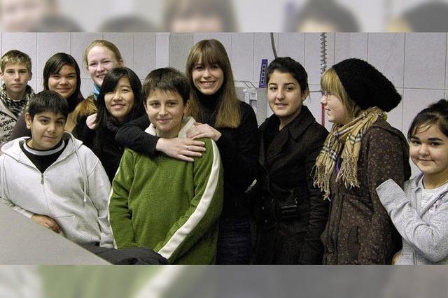 Alle Schüler lieben Inga – aber Inga geht demnächst ins Ausland