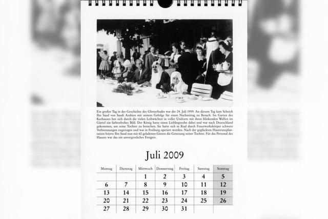 Kalender 2009: Aus- und Rückblick