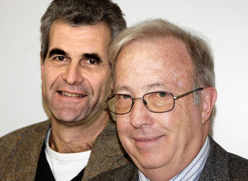 Helmut Ressel (links) löst Christoph Meyer an der Spitze der Lebenshilfe ab.     Foto: Sabine Ehrentreich