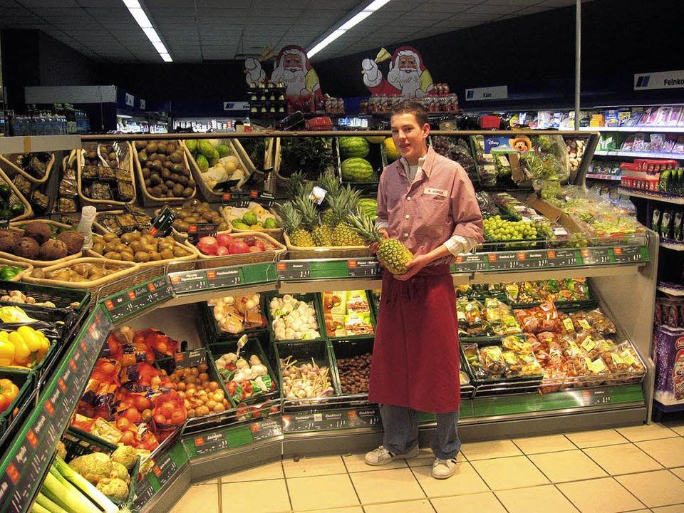 <Bildtext>In der Obst- und Gemüseabtei...d Fertigsalate erweitert.  </Bildtext>  | Foto: Andreas peikert