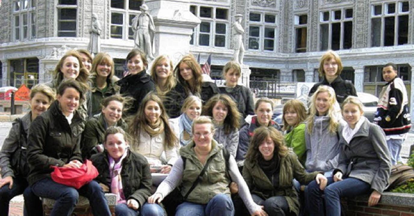 "Absolut ""amazing"": Bad Krozinger Schüler in den USA   | Foto: Privat"