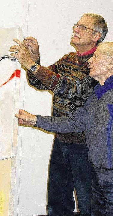 Kündigten ihre Ämter auf: Künstlergild...ein Stellvertreter Helmuth Sabrowski    | Foto: Beathalter