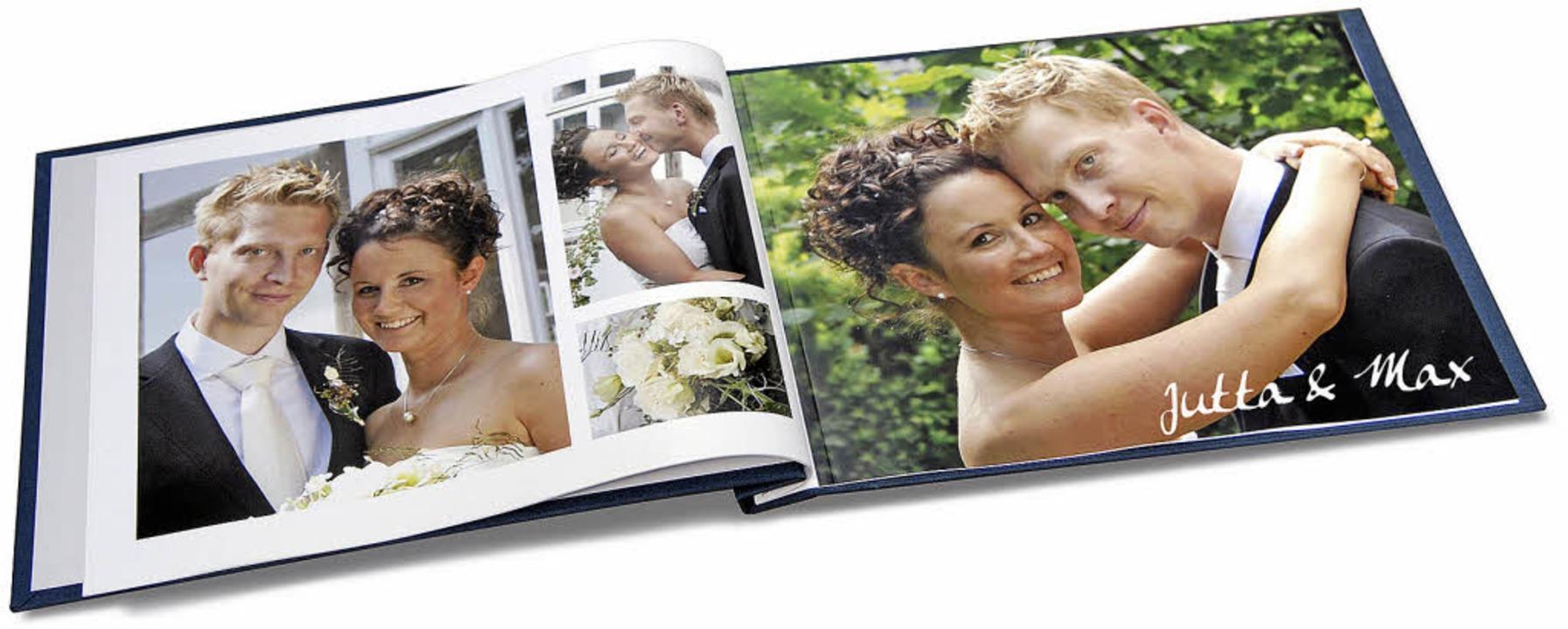 Schöne Momente: per Fotobuch präsentieren   | Foto: gms