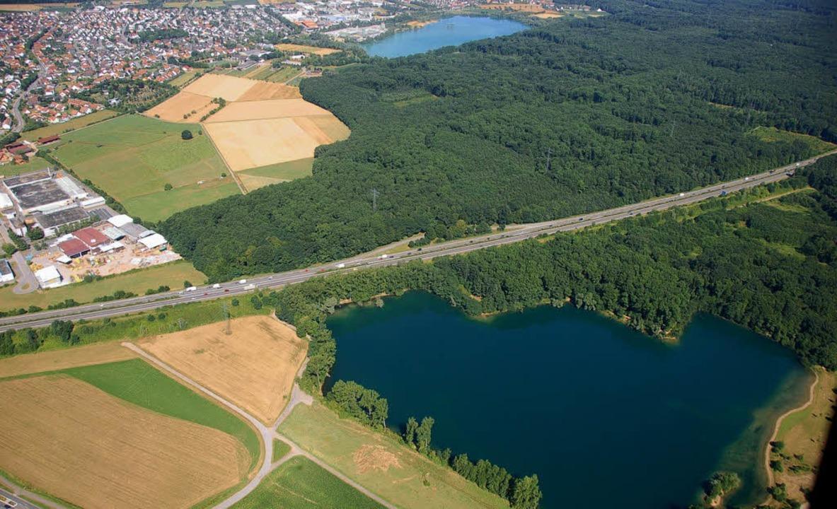 Bisher wird die A5 zwischen Offenburg ...utobahnbetriebshof bei Achern ändern.     Foto: Helmut Seller