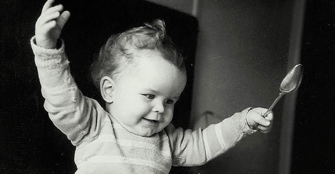 Herbert Grönemeyer als Baby: Cover-Ausschnitt seiner Best-of-CD.   | Foto: BZ