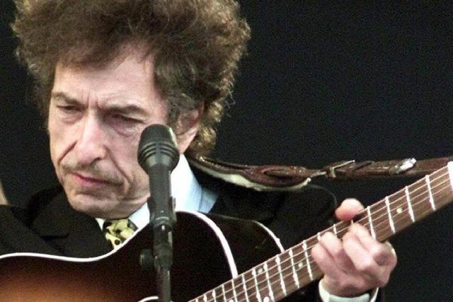 Bob Dylan spielt in Basel