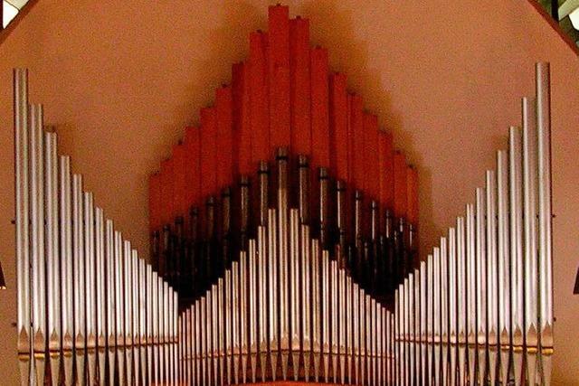 Eine neue Kirchenorgel für Kollnau