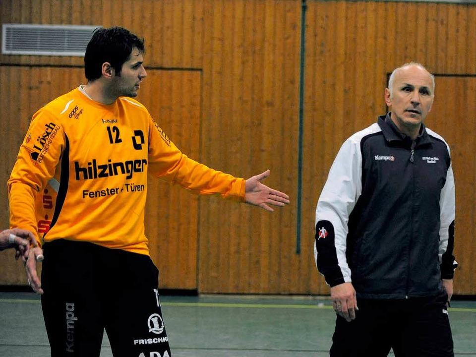 Begegnung mit dem Vater, Trainer in Weil