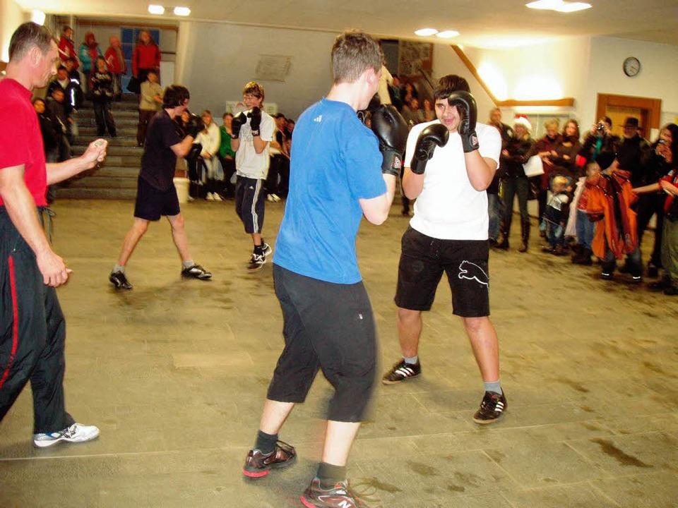Höchste Konzentration und gute Fitness...eigen, was sie  bereits gelernt haben.    Foto: Martha Weishaar