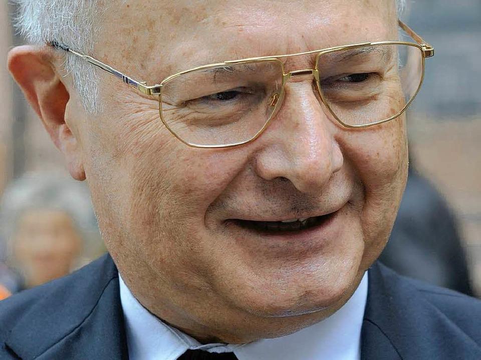 Heimspiel: Freiburgs Erzbischof Robert... 2010 in der eigenen Diözese begrüßen.  | Foto: Ingo Schneider