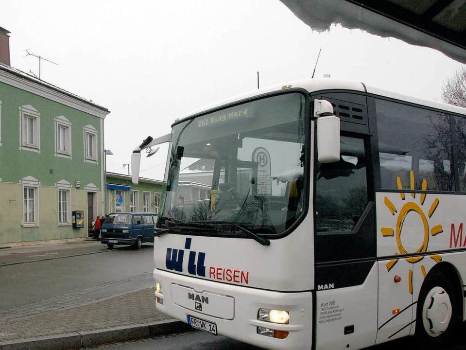 Mehr Bus ist nicht möglich, sagt der F...munen nicht finanziell  beteiligten.    | Foto: Münch