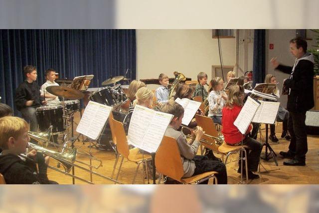 Jungmusiker in Hochform