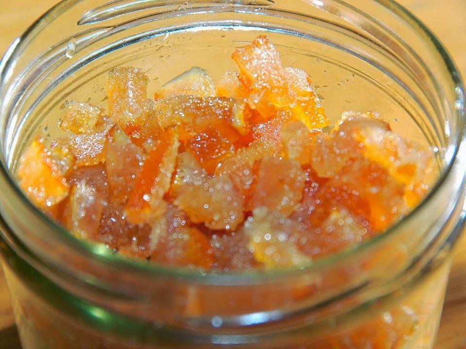 Orangeat zum Naschen  | Foto: hoffmann