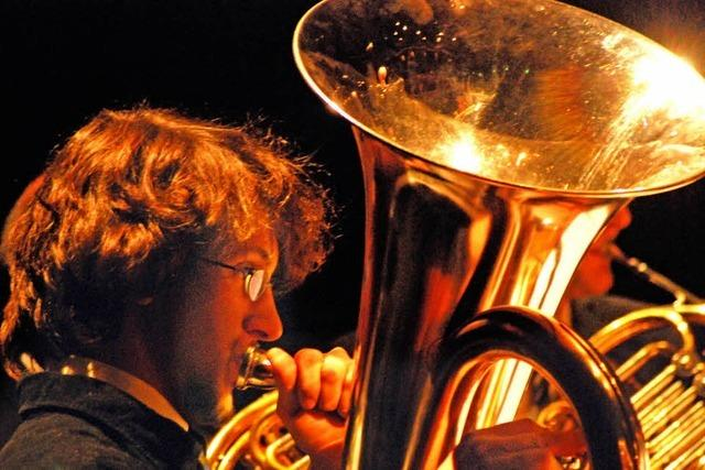 Nachwuchsmusiker spielen für guten Zweck