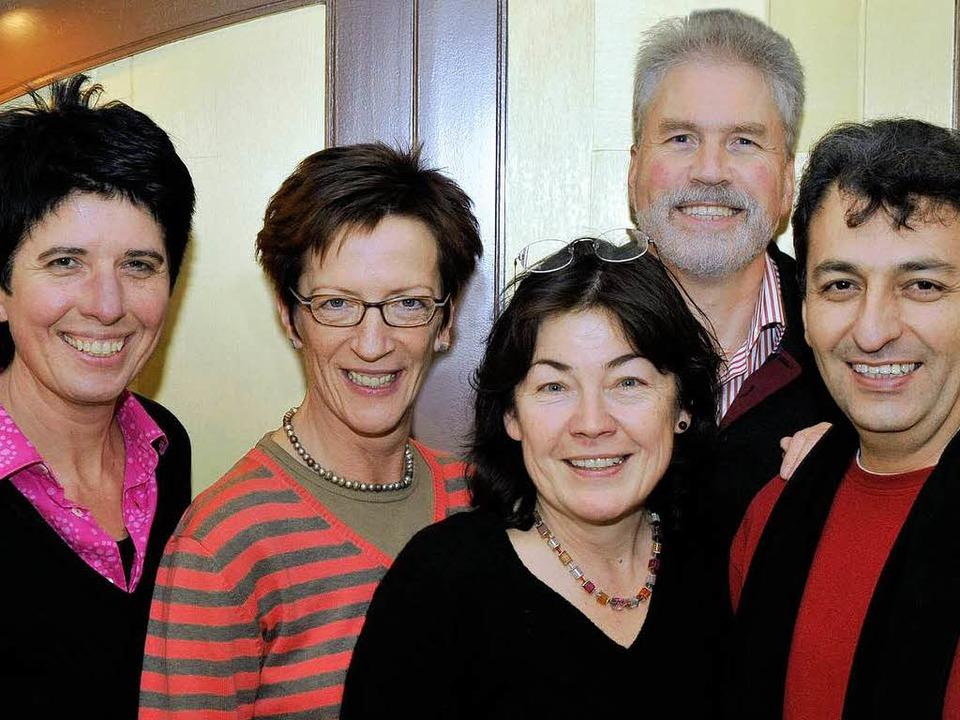 Die ersten Fünf (von links): Adelheid ... Friebis (2) und Ibrahim Sarialtin (4)  | Foto: Thomas Kunz