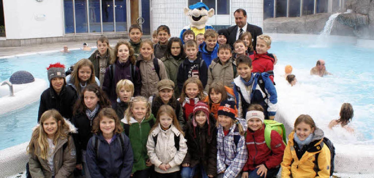 Markgrafengrundschule Tiengen, 4a und 4b,  Aktionstag in der Vita Classica    Foto: Constantin Jassok