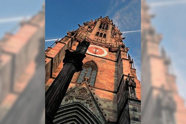 Ein Schwein auf dem Münsterturm