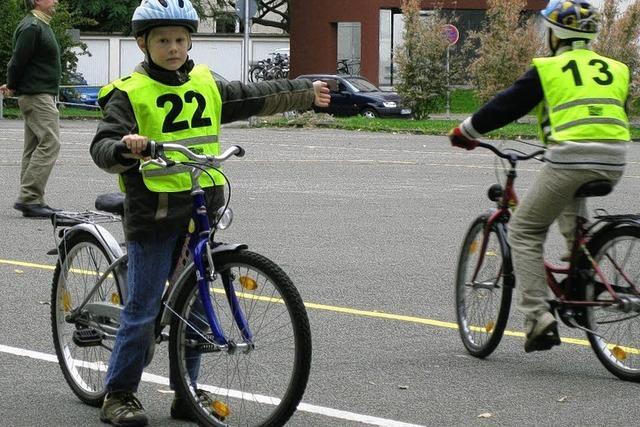 Ein Führerschein für das Fahrrad