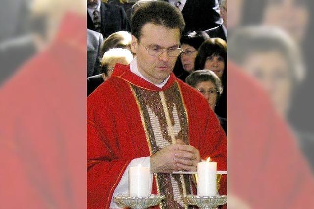 Pfarrer Huber bittet Diözese um Versetzung